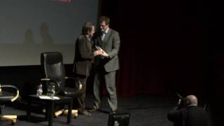 John Hurt receives Lifetime Achievement Award at Bradford International Film Festival 2010