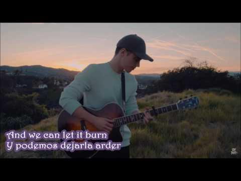 Leroy Sanchez -  Flame Lyrics Traducida (TINASHE Cover)