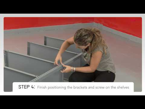 MODULAR shelving - Assembly instructions - YouTube