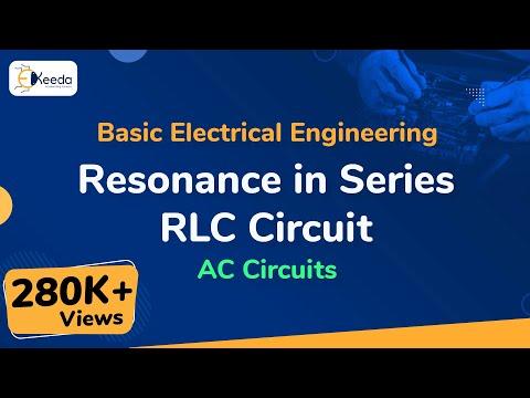 Resonance in Series R-L-C Circuit