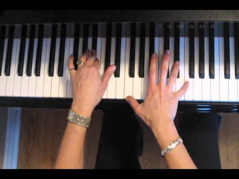 Jar Of Hearts On Piano Christina Perri With Chord Chart Youtube