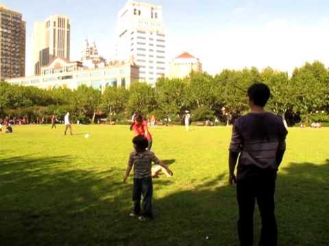 Human Carousel  sa Fuxing Park, Shanghai China