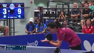 2018 US National Table Tennis Championships - Womens Singles Final - Liu Juan vs Angela Guan