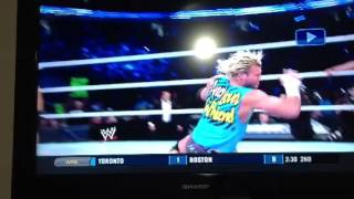 How Ziggler got his concussion