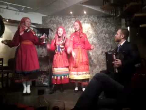 Russian traditional folk singing style from Southern Russia.