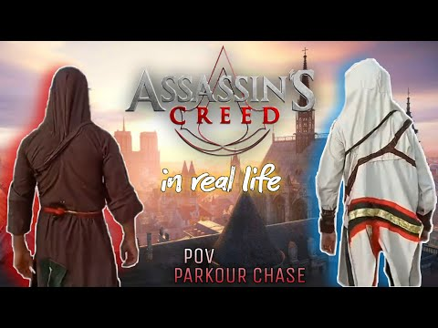Assassin's Creed In Real Life Parkour Chase.