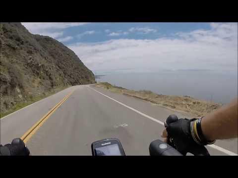 Big Sur ride where landslide happened