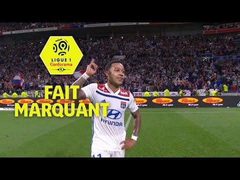 Le 1 fait marquant de la 38ème journée de Ligue 1 Conforama / 2017-18
