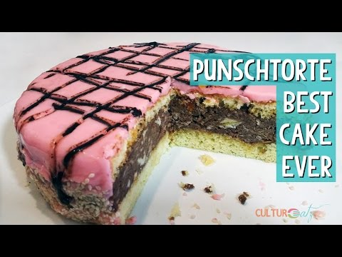 Punschtorte Austrian Cake: my TOP Foodie Travel Discovery
