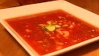 Chilled Shrimp Gazpacho: Soups On #15