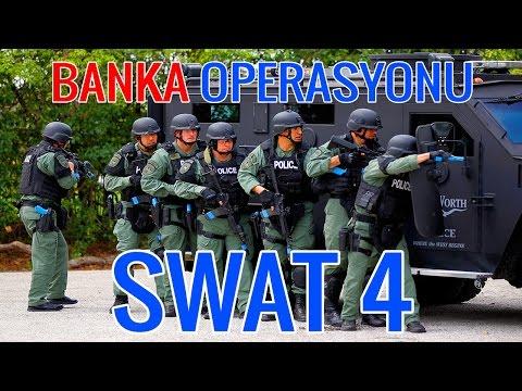 BANKADA SOYGUN VE REHİN ALMA DURUMU VAR! - SWAT 4