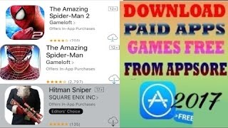 Download The Amazing Spider-Man 1/2 Hitman Sniper And More Free From App Store No Jailbreak/PC