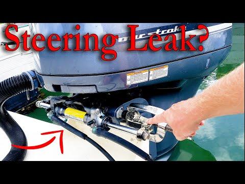 Fixing Boat Hydraulic Steering!