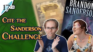 Cite the Sanderson Challenge!!