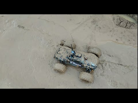 Automodelo Atola No Lamaçal ( E Maxx Fpv Long Range )