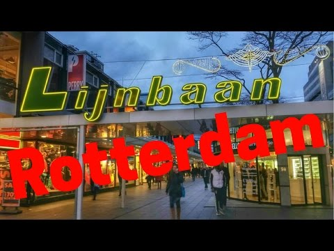 Rotterdam, The Netherlands.. City Tour (Part9/12) Lijnbaan