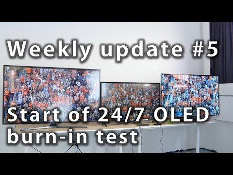 #5: Start of 24/7 OLED burn-in test - Rtings.com