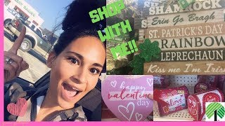 New At Dollar Tree Shop With Me! Valentines Day & St Patricks Day