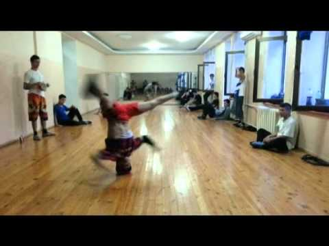 Bekabad Breakdance Bboy FreD Power Move 2015 Uzbekistan