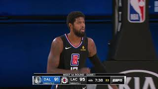 LA Clippers vs Dallas Mavericks | August 17, 2020