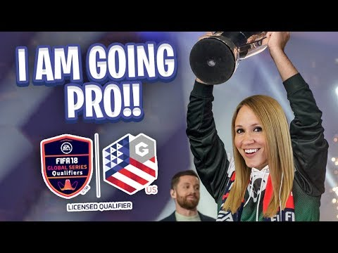 I AM GOING PRO ON FIFA 18! YOU WON'T BELIEVE IT...