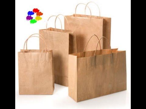 Hướng dẫn làm túi giấy  – Paper bags tutorial [hoagiayshop.com]