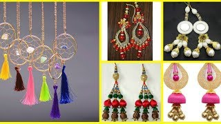 Latest long earrings collection