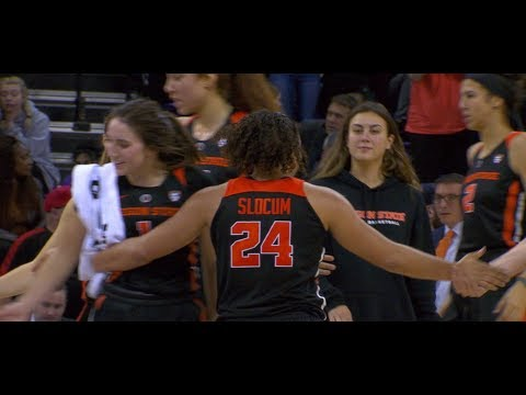 Oregon State Beavers - Beavers roll past Huskies 86-39. Pivec 19 Boards!!