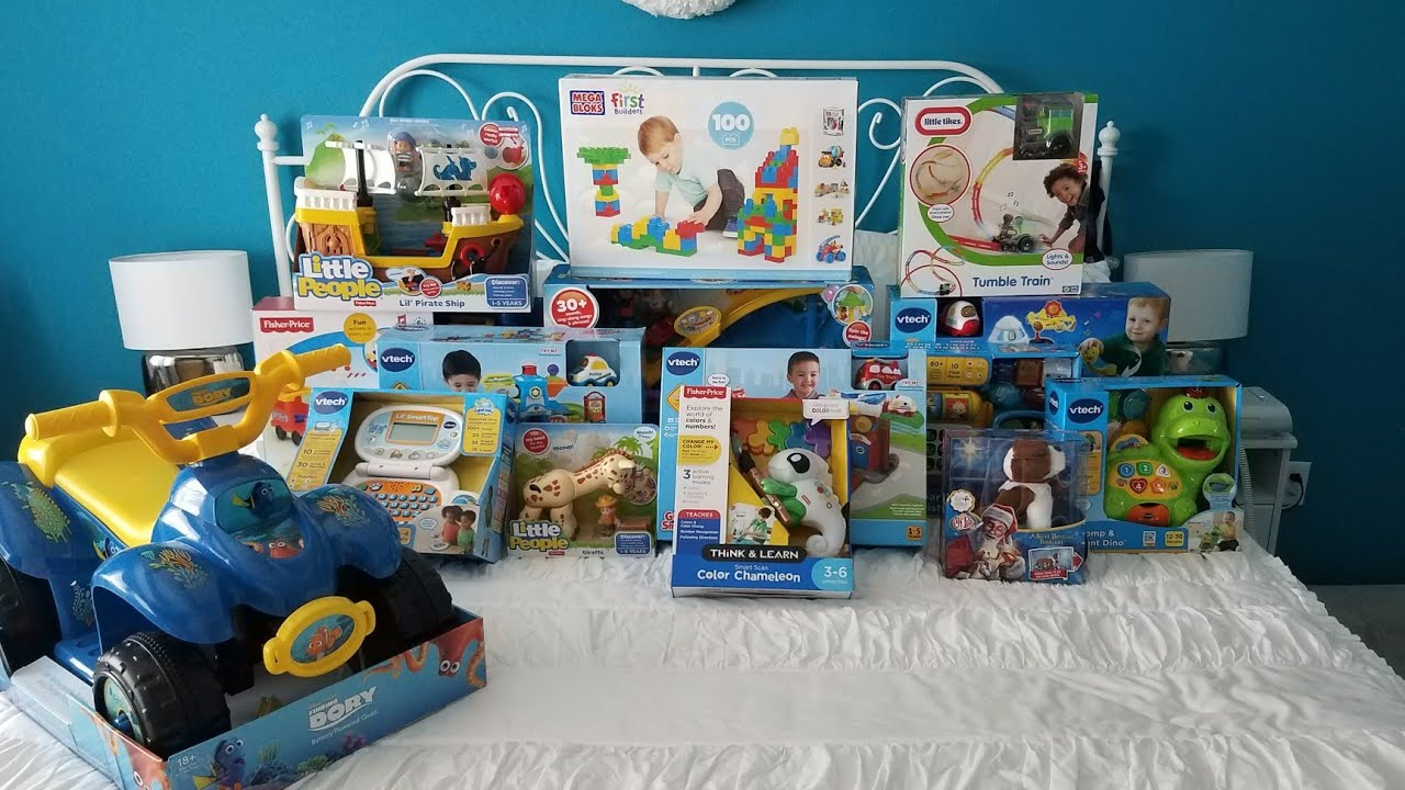 what i got my 1 year old for christmas 2017 so far