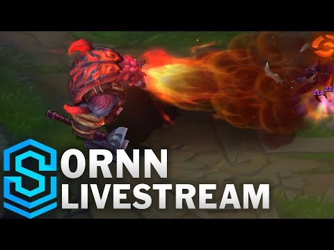 Ornn New Champion | Gameplay - Automated Live Stream