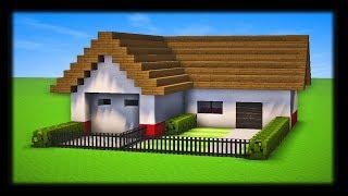 COMMENT CONSTRUIRE UNE MAISON AMÉRICAINE MODERNE ? Tuto Build Minecraft