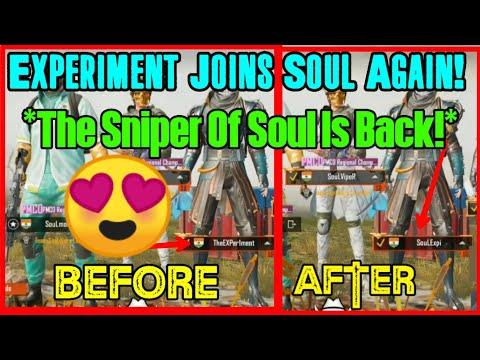 😍MortaL Plays With Experiment After He Joined Soul | Exper1ment Joins Soul Again | Soul MortaL