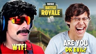 DrDisRespect Gets Recognized by Random Player - Funny Moments on Fortnite (21/09/18)