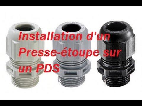 Installation D Un Presse Etoupe Sur Un Projecteur De Son Youtube