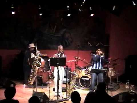 Vincent Davis & Roscoe Mitchell Live at The Hot House 2007 Part 1