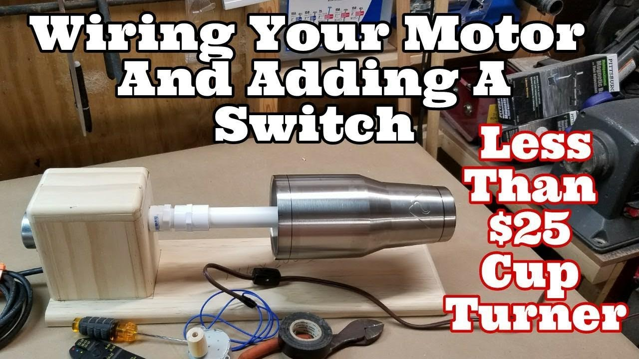 small resolution of wiring your 25 tumbler turner motor youtube turner plus 2 microphone wiring turner 2 plus wiring