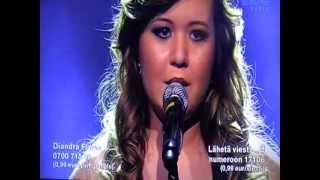 Diandra Flores - Missä Muruseni On (Idols 2012)