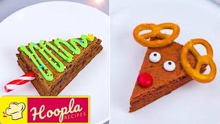 10 Holiday Desserts to Eat While Waiting for Santa! MAGICAL DIY CHRISTMAS Treat | Christmas Brownies
