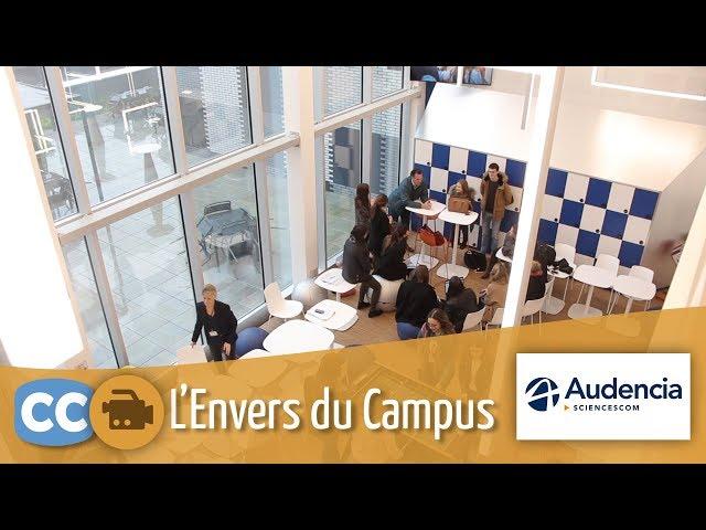 Découvrez l'Envers du Campus d'Audencia SciencesCom