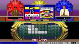 Wheel of Fortune: Deluxe Edition (GameTek) (Windows 3.x) [1994] [PC Longplay]