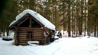 КЛЁВ ТАЕЖНЫХ КРОКОДИЛОВ!!! День 1ый. Ловим щуку со льда в апреле на малой реке в Сибири Tomsk