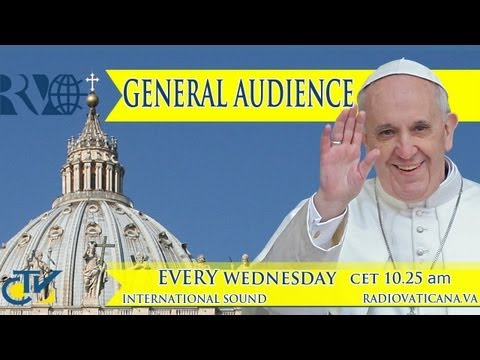 Pope's General Audience 2013-05-15