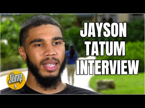 Jayson Tatum on the challenges of being away from his son while playing in the NBA bubble | The Jump