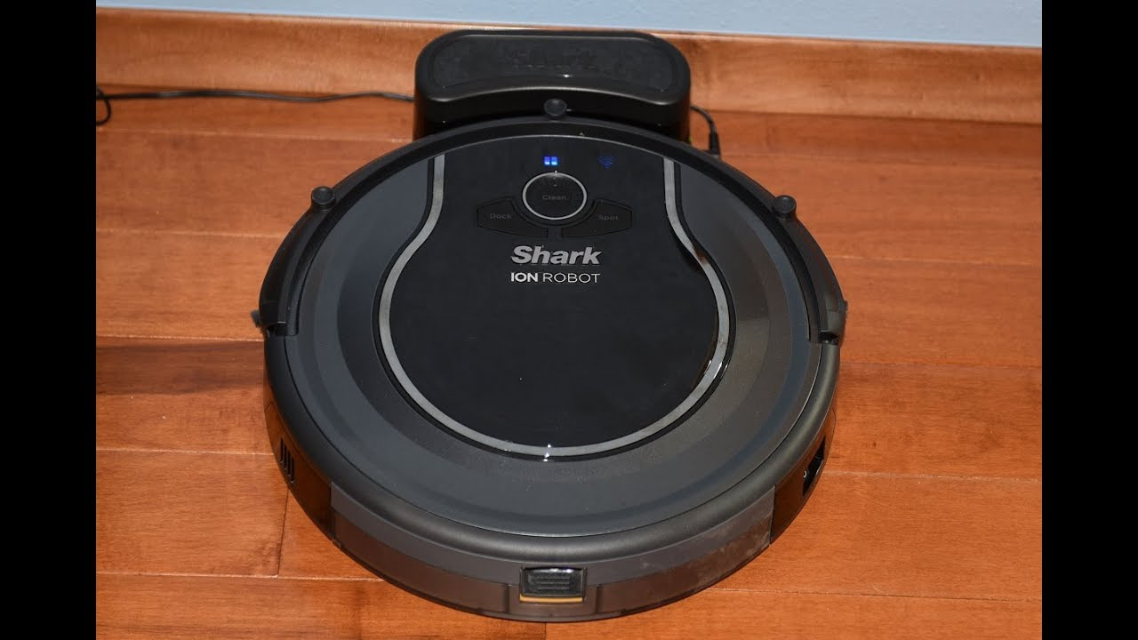 Shark Ion Robot 750 Robotic Vacuum Voice Command Demo