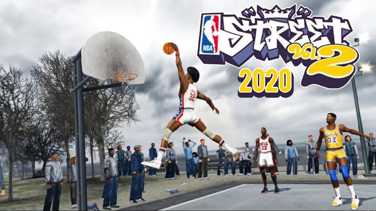 Download NBA Street Vol. 2 Graphic Overhaul Emulator PS2 (4K) #2