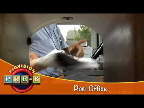 How To Mail A Letter |  Post Office Field Trip | KidVision Pre-K