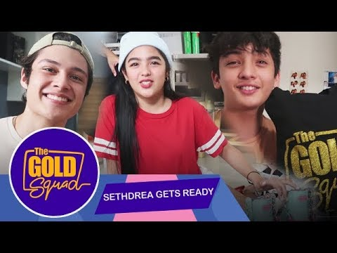 SETHDREA'S TIME TO PACK! WITH QUICK ENGLISH LESSONS WITH RHYS MIGUEL | The Gold Squad