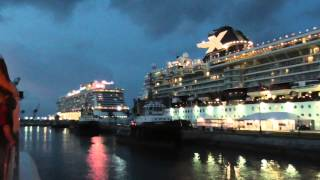 The Celebrity Summit and NCL Breakaway at Royal Naval Dockyard in Bermuda, 7/9/2015