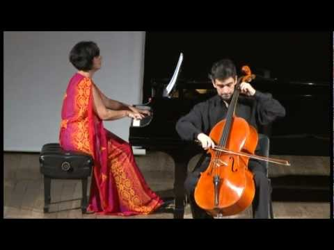 Popper: Polonaise de Concert for cello and piano - Davi Barreto