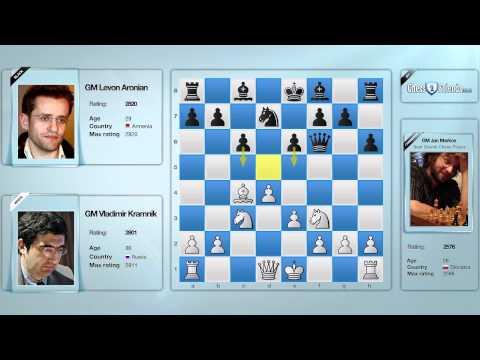 Chess Grandmaster Explains — GM Kramnik vs. GM Aronian, Game 1, Zurich Chess Challenge 2012